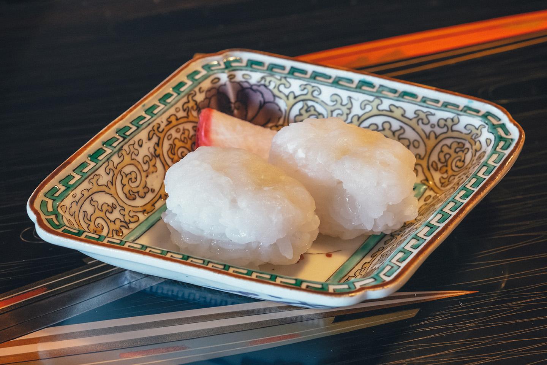 Fresh Conger Eel Nigiri Sushi