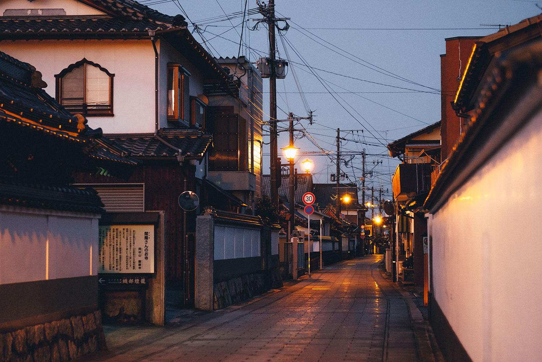 Teramachi-dori of Nakatsu Castle Town