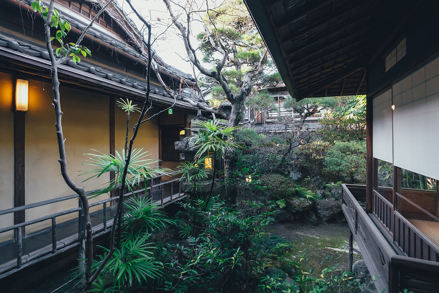 A Detached Building From the Edo Period Moved by Structure Relocation
